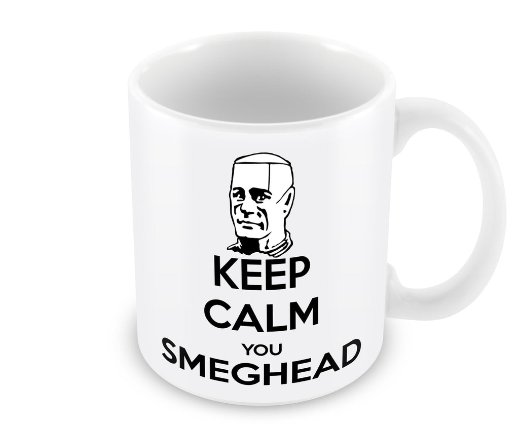 Mug - Keep Calm You Smeg Head Mug