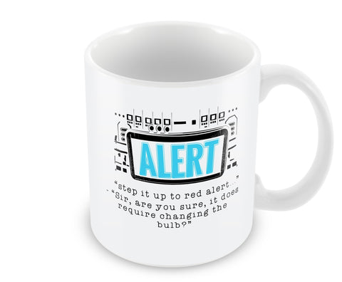 Step It Up To Red Alert Mug