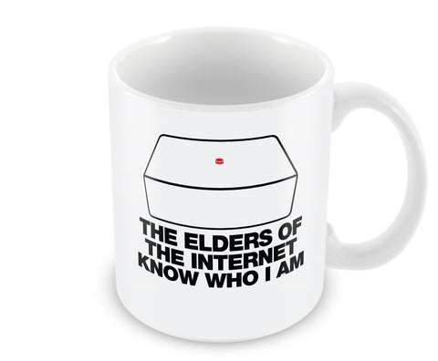 Mug - The Elders Of The Internet Know Who I Am Mug