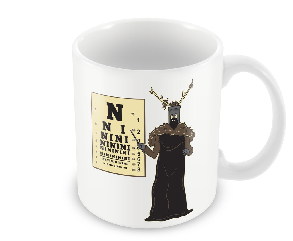 Mug - The Knights Ni  Eye Checkup Mug
