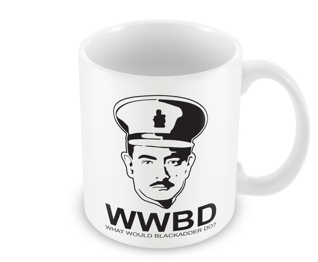 Mug - What Would Blackadder Do - Mug