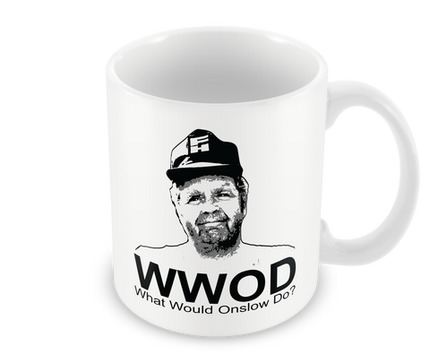 What Would Onslow Do Mug