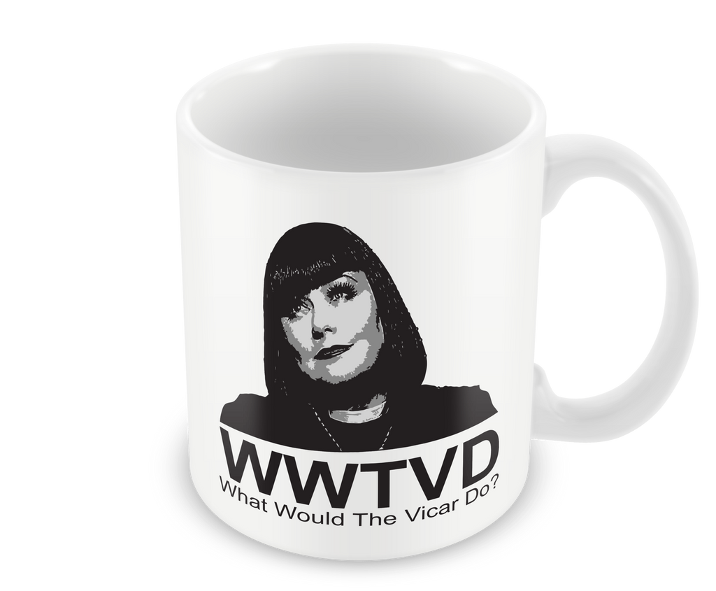 What Would The Vicar Do Mug