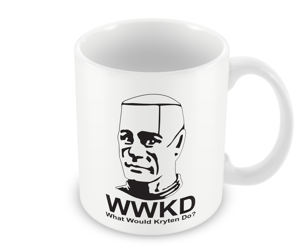 What Would Kryten Do Mug