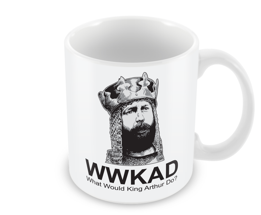 What Would King Arthur Do Mug