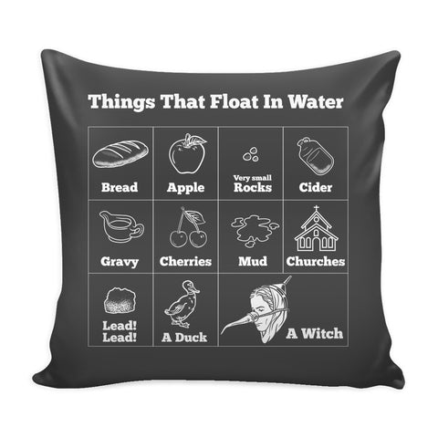 Pillows - Witch Chart Pillow Case