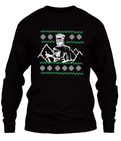 T-Shirt - Black Knight Christmas