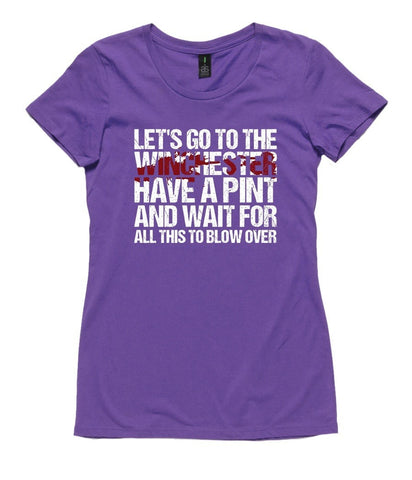 T-Shirt - Let's Go To The Winchester