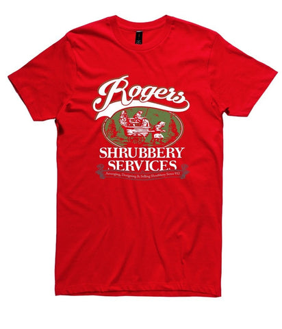 T-Shirt - Rogers Shrubbery Service