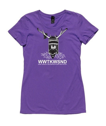 T-Shirt - What Would The Knights Who Say Ni Do?