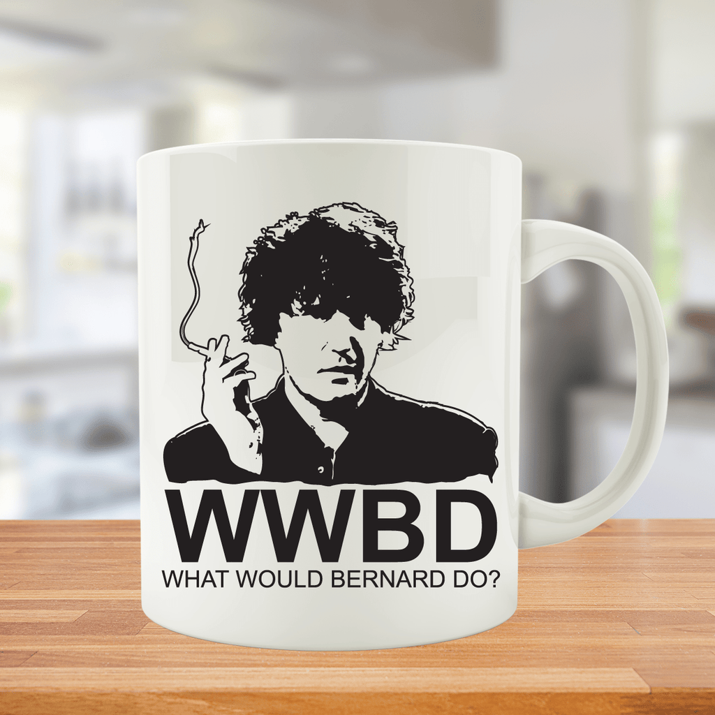 What Would Bernard Do - Mug - CLEARANCE