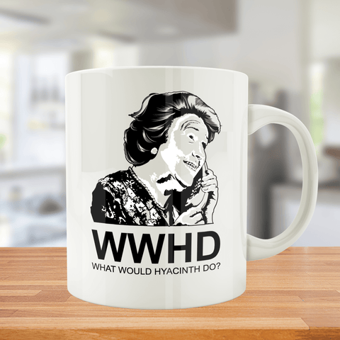 What Would Hyacinth Do- Mug