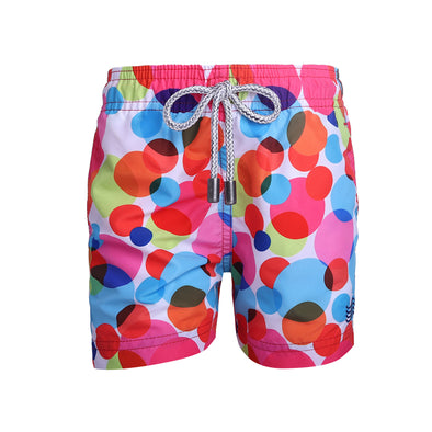 Pink Bubbles (kids) - Mayaguana Swimwear