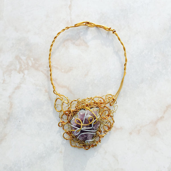 Royal Gold Amethyst
