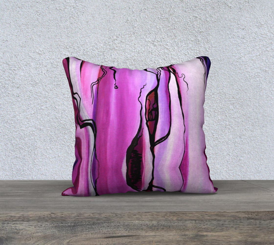 purple soul pillow