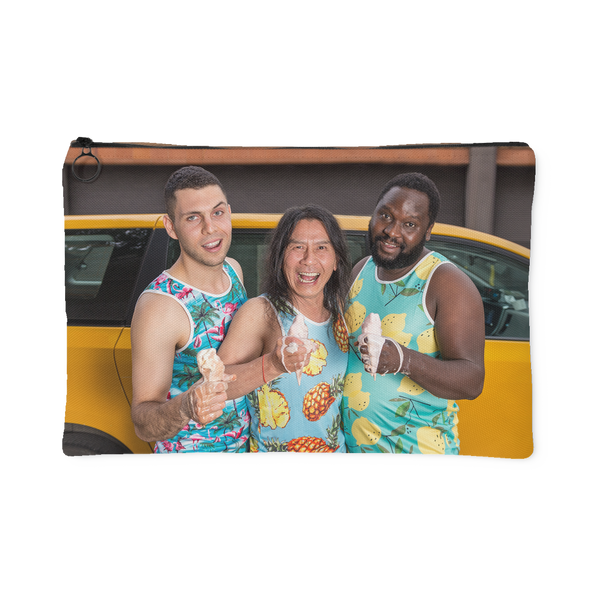 2019 NYC Taxi Calendar Cover Men Accessory Pouch