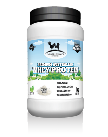 100% Natural Whey Protein Concentrate (WPC)