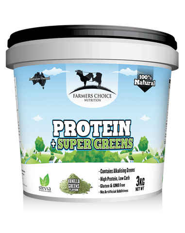 Whey Protein + greens