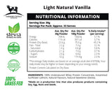 Natural Vanilla Flavoured Whey Protein Concentrate