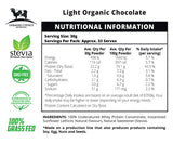 Organic Chocolate Flavoured Whey Protein Concentrate