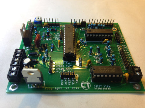 automatic chicken door controller circuit board