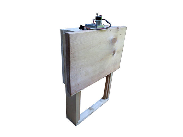 Automatic Chicken Coop Door Frame Cabinet w/ Motor and Drive