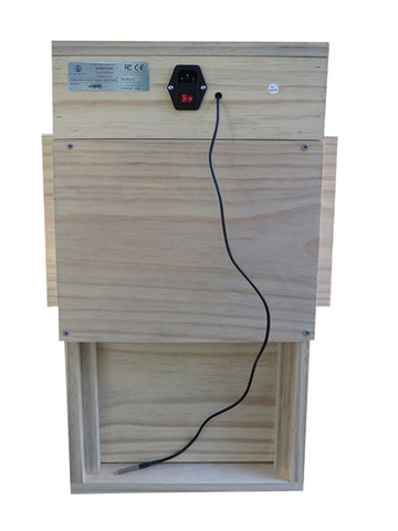 automatic chicken coop door electric back