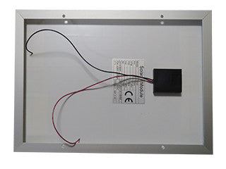 automatic chicken coop door solar panel back