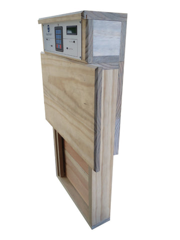 bundle: automatic turkey door coop tender system angle 2