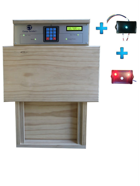 Bundle: Automatic Coop Door + Internet Wi-Fi + Predator Motion Detect
