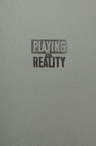 PLAYING AND REALITY/ARTIST'S BOOK, 2016