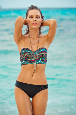 Malai Collection-Pettise Bustier Top | Swimme Boutique Swimwear Miami