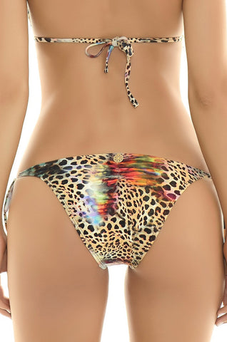 Leopard Triangle Swimwear Top - Manglar Swimwear | Swimme Boutique Miami