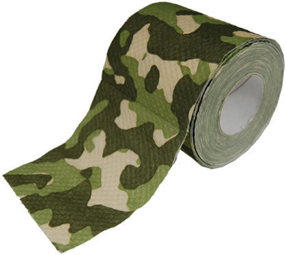 roll of camouflage toilet paper for camping