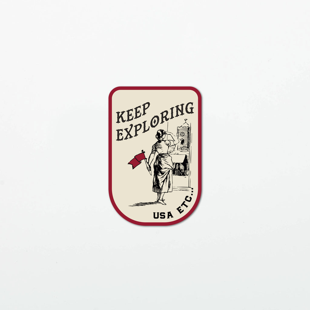 Keep Looking Forward Stickers