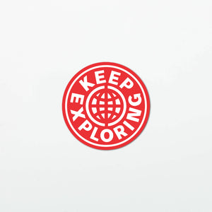 KE Globe Stickers