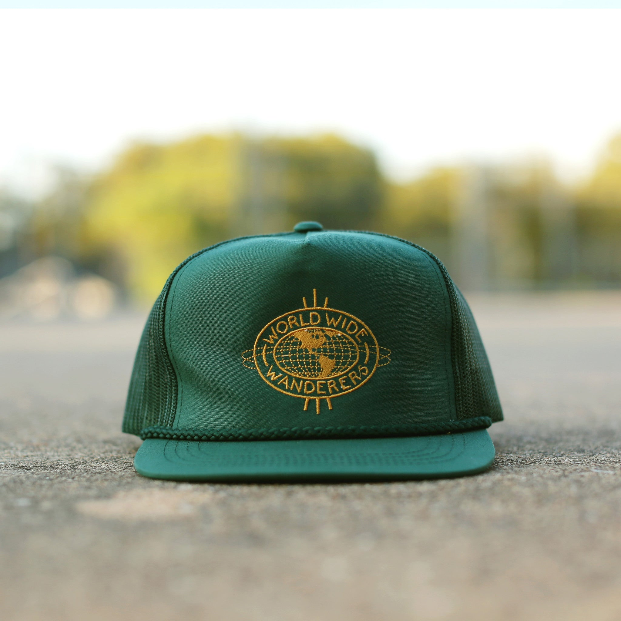 World Wide Wanderers Hat