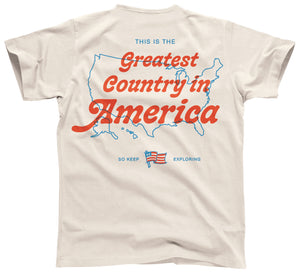Greatest Country in America Tee