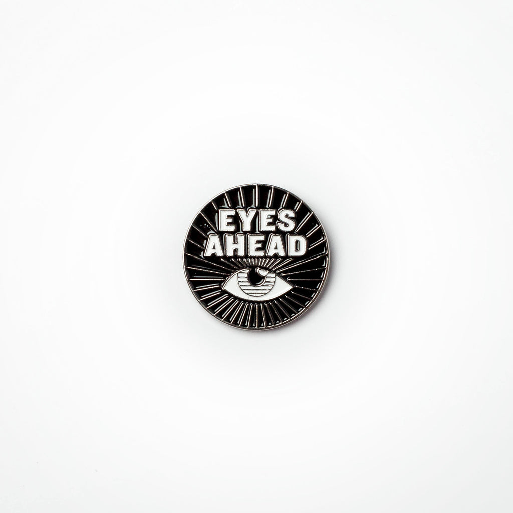 Eyes Ahead Lapel Pin