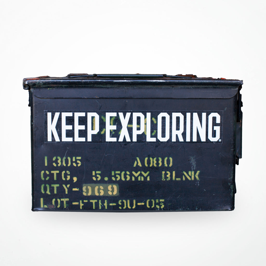 Keep Exploring Block Decal