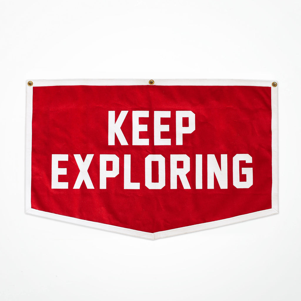 Keep Exploring Champion Banner