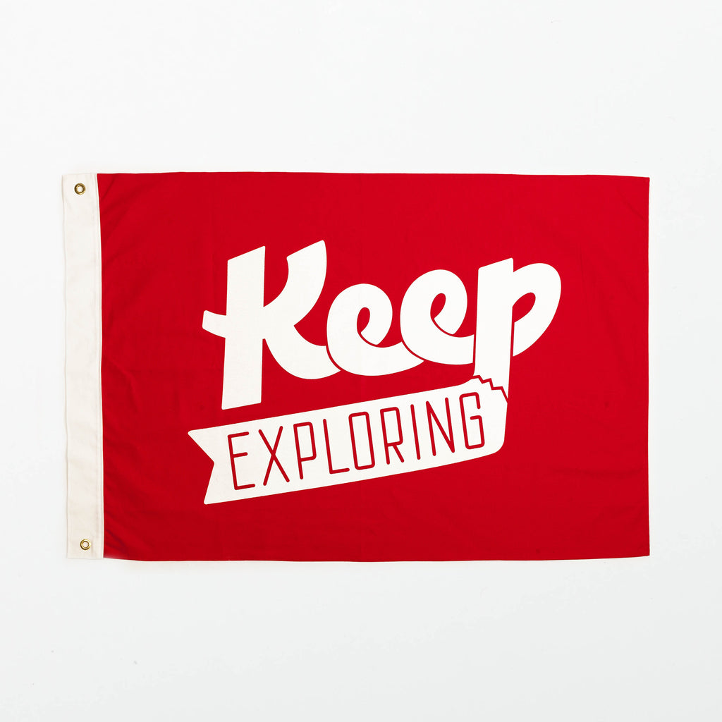 Keep Exploring Flag