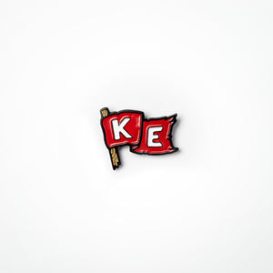 KE Flag Lapel Pin