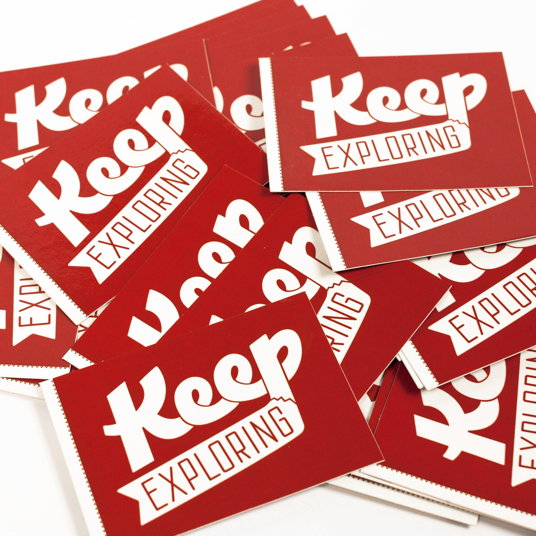 Keep Exploring Stickers