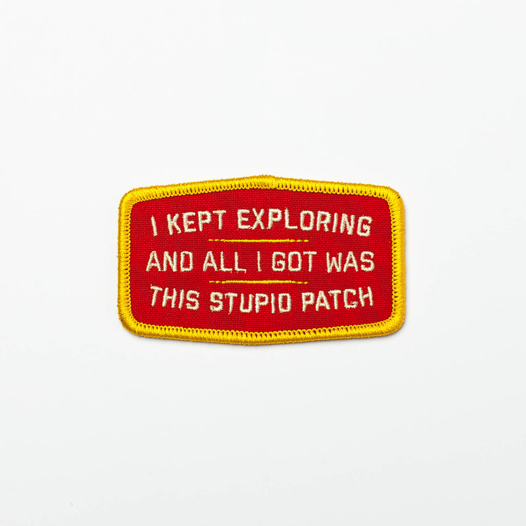 I Kept Exploring Patch