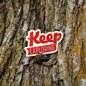 Keep Exploring Decal