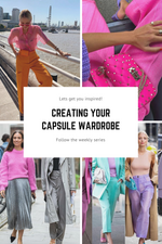 Creating your capsule wardrobe - Introduction