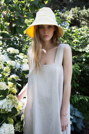 Load image into Gallery viewer, Natural Linen Lizzie dress