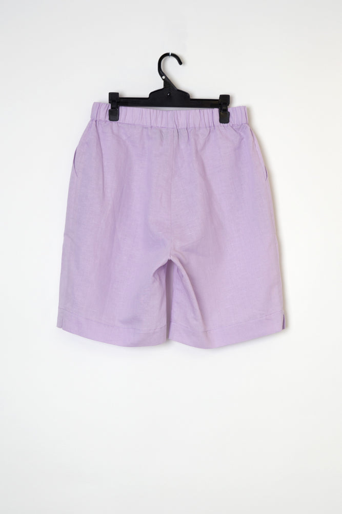 Load image into Gallery viewer, Kelly linen short lilac