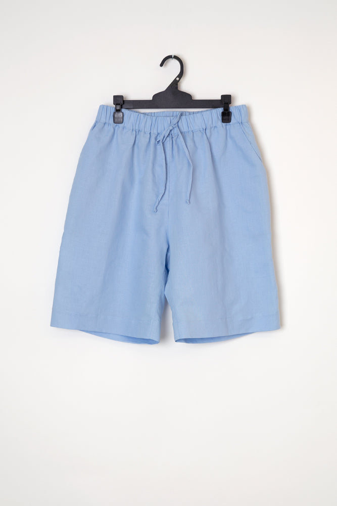 Load image into Gallery viewer, Kelly linen short powder blue
